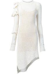 вязаное платье асимметричного кроя  Magda Butrym