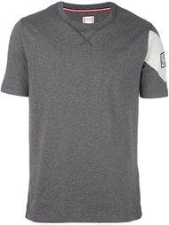 футболка с заплаткой с логотипом Moncler Gamme Bleu