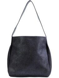 contrast strap shoulder bag  B May