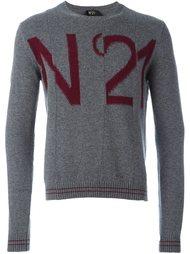 свитер с логотипом  Nº21