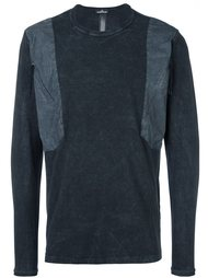 свитер с панельным дизайном  Stone Island Shadow Project