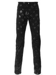джинсы с логотипом  Versace
