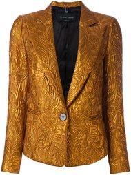 пиджак с эффектом металлик Christian Pellizzari