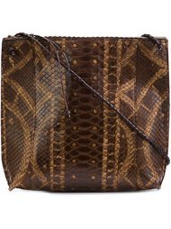 textured cross-body bag  B May