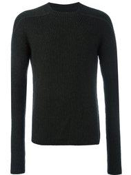 свитер в рубчик  Rick Owens