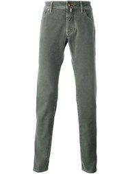 брюки в елочку  Jacob Cohen