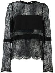кружевная блузка Emanuel Ungaro