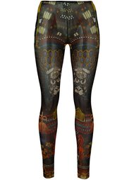 леггинсы 'Samurai Tattoo'  Dsquared2 Underwear