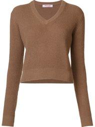 свитер с V-образным вырезом Organic By John Patrick