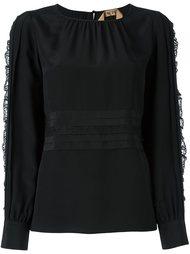блузка с кружевной отделкой Nº21