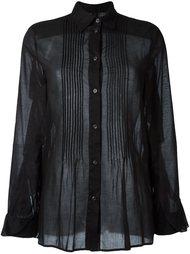 рубашка с плиссировкой Mm6 Maison Margiela