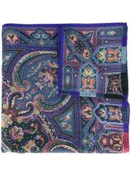шарф с абстрактным принтом  Etro