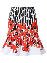 юбка с абстрактным принтом Isolda