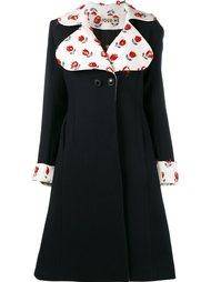 расклешенное пальто с цветочной вышивкой  Jour/Né