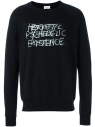 толстовка 'Hermetic Psychedelic Existence'  Saint Laurent