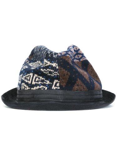 лоскутная шляпа Etro