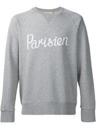 толстовка 'Parisien' Maison Kitsuné