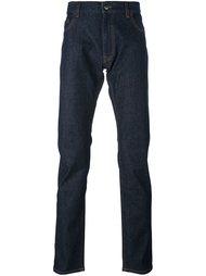 эластичные прямые брюки Z Zegna