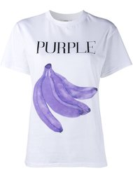футболка с принтом бананов  Ganni