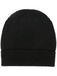 шапка-бини в рубчик Maison Margiela