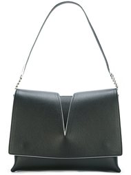 сумка на плечо с вырезной деталью Jil Sander