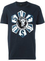 футболка с принтом Versus