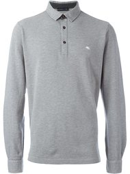 рубашка-поло с длинными рукавами Etro