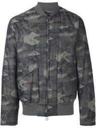 куртка с камуфляжным принтом  Helmut Lang
