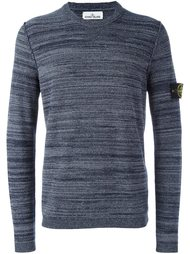 свитер с логотипом  Stone Island
