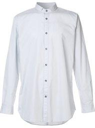 рубашка с узким воротником Zanerobe