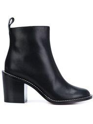 сапоги по щиколотку на скульптурном каблуке Givenchy