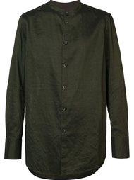 рубашка с воротником-стойкой Ziggy Chen