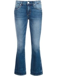 укороченные расклешенные джинсы Amo