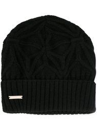 шапка-бини с логотипом  Dsquared2