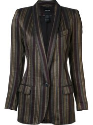 shawl stripe blazer Smythe