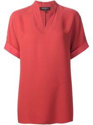 блузка с V-образным вырезом Lafayette 148