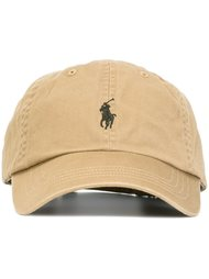 бейсбольная кепка с вышитым логотипом Polo Ralph Lauren