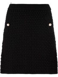 мини юбка крупной вязки Boutique Moschino