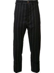 укороченные брюки в полоску Vivienne Westwood Man