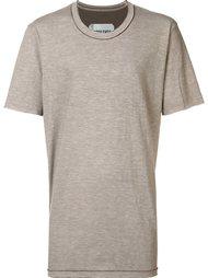 футболка с необработанными краями Ziggy Chen