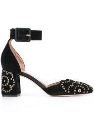 туфли-лодочки с декоративными люверсами Red Valentino