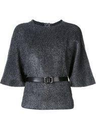 свитер с поясом Martin Grant
