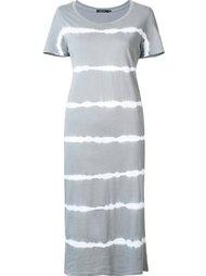 платье с принтом-тайдай Obey