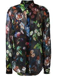 юбка с цветочным принтом Anthony Vaccarello