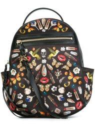рюкзак с принтом 'Obsession' Alexander McQueen