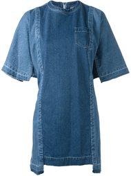 свободное джинсовое платье  Sacai