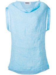блузка свободного кроя  Issey Miyake