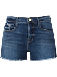 denim shorts  Frame Denim