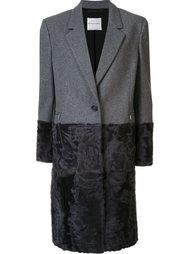 пальто длины миди на пуговицах Emanuel Ungaro