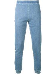 спортивные брюки с эффектом денима Maison Margiela